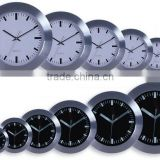 12 inch metal and aluminum round wall clock made in wholesale china factory!
