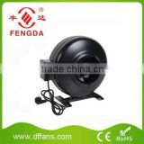 Duct Inline Fan Motor Fan Indoor Hydroponic Fan 250mm 1.The Voltage of the fan is 110-120V,60Hz or 220-240V,50/60Hz. 2.Fan Mount