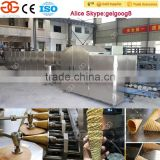 Gelgoog Automatic Rolled Sugar Cone Machine Crispy Cone Making Machine With Factory Price