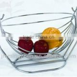 chrome plated iron wire fruit basket