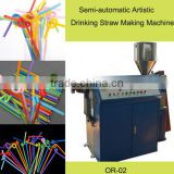 Artistic Drinking Straw Making Machine