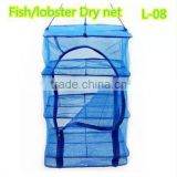 Hot sale Two zippers crayfish fish trap for sale