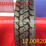 China factory tires, TIME/ANNAITE brand truck tyre/tires with ECE DOT GCC, high quality truck tire 12.00-20-18pr