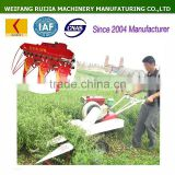 Hot used wheat harvesters, paddy rice harvester and rice reaper for walking tractors ! New made wheat cutting machine for sale !