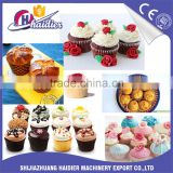 cupcake production line muffin making machine cupcake -maker mini sponge cake mould machines