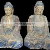 Wood carvings,Wood Craving Temple Decoration Buddha Sculpture,Hand Carved life size wooden statue