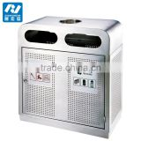 Cleaning Stainless Steel Commercial Dustbin Waste Bin