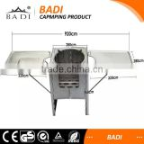 foldable stainless steel charcoal grill bbq