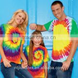 Men's Tie Dye t shirt , family matching clothes, parent-child clothing ,family suits