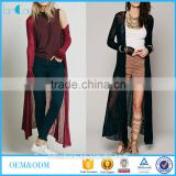 2016 Fashion Women Summer Cardigan Beach Cover Up Full Length Maxi Tops Dress