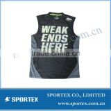 Newest Sleeveless compression shirt