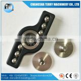 Stainless Steel Ball Torq Bar fidget hand Spinner Killing Time Toys with Si3N4 ceramic bearing