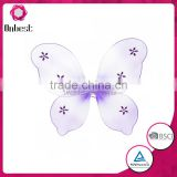 Romantic purple fairy wing with button Wholesale cheap butterfly wing Vivid party accessory