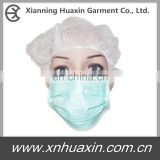 Disposable surgical nonwoven face mask with 3ply