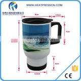USA Best Seller High Quality White stainless steel mug