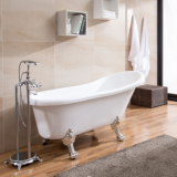 Cheap Double Slipper Clawfoot Cast Freestanding Bath Tubs​