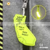 Reflective Zipper Pull For Kids Safety Promotion