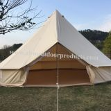 3-6M Waterproof Luxury Camping Cotton Herringbone Tent