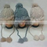 2011 new design rabbit fur and polyester hats