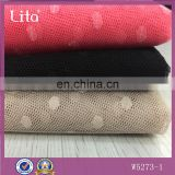 polyester dot for new fashion dress