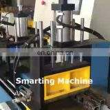 MC-455CNC Automatic aluminum tube cutting machine with aluminium scrap Vacuum cleaner facility