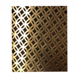 High quality stainless steel hole galvanized perforated metal mesh
