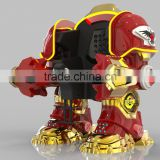 Inquiry about battery operated battle king walking robot amusement park rides for outdoor playground