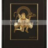 24k gold foil 3d pictures /hindu god picture/new design 3d photo for home decorations or gift