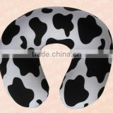 Travel neck pillow with micro beads fillings U pillow