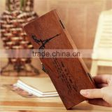 Natural wooden case eco-friendly natural wood pencil