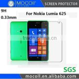 Tempered Glass Supplier 9H 2.5D Curved For Nokia Lumia 625 Tempered Glass Screen Protector With Top Standard Packaging