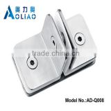 Stainless steel clips for glass clip frame and SS handrail clamps and handrail glass fixing