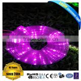 High quality green color changing led neon rope light Mainly Festivals outdoor decoration