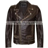 cowhide leather Jackets / fashion boys leather jackets /pure leather jacket/ motor bike jackets