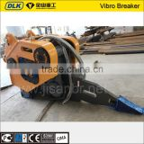 Excavator Mounted Hydraulic Vibro Ripper for rock stone hammer mountain breaking