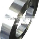Hardened and tempered carbon steel strip for making bricklaying trowel