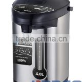 NK-A604 Thermos pot electric airpot thermo pot temperature control function 3L/3.6L/4.0L/5.0L black +SS body LCD display samovar