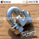 wire rope clip of galvanized and carbon steel anti rust