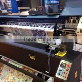 digital textile printer for polyester/cotton/cloth/flag with two dx5 or dx7 print head, 1900mm width