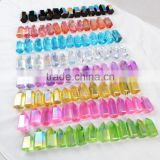 Wholesale natural angel aura quartz crystals pyramid healing clear quartz point                                                                         Quality Choice