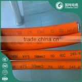 16mm 25mm 35mm 50mm 70mm 95mm h01n2-d silicone welding cable with 100% quality assurance