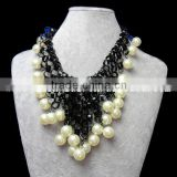 latest design coral beads necklace jewelry