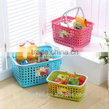 plastic shopping basket &collapsible shopping basket