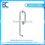 high quality 304 sus stainless steel glass door handle /double side shower door handle (WL-1065)