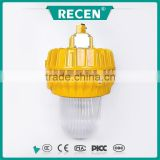 70w 100w 150w yellow aluminum alloy glare oil field explosion proof lighting, metal halide explosion proof lights