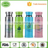 Wholesale 380ml Double wall stainless steel sport bottles with flat cap at competitive price