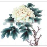 Verisimilar peony blossom handmade painting for gifts & crafts &collection