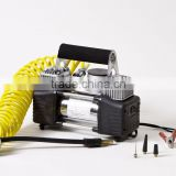 DC12V 150PSI 18A double 30mm cylinder air compressor pump for car tire,bike tire,inflatable craft,balls factory HS code 84148090