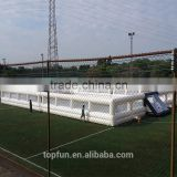 PVC Inflatable Football Field / Inflatable Outdoor Sport / Soccer Playground                                                                         Quality Choice