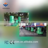 Universal outdoor coin-operated car washing machine steam jet